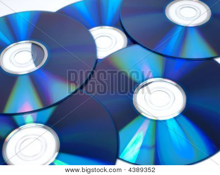 A Bunch Of Computer Disks