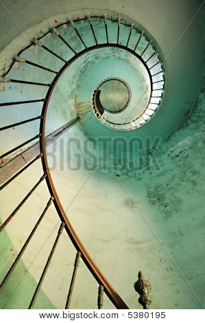 Lighthouse Spiral Staircase