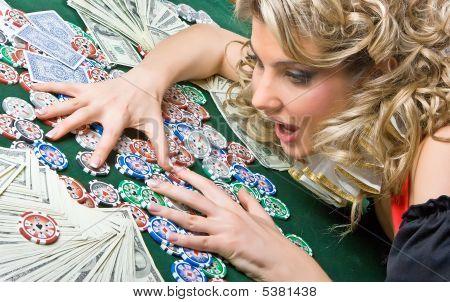 Girl Won Money