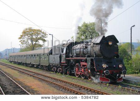 Steam Retro Train
