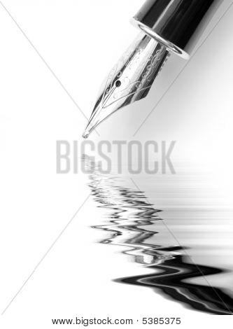 Fountain Pen Abstract