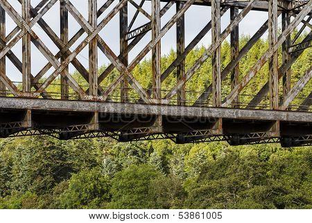 Boat O Brig railway bridge.