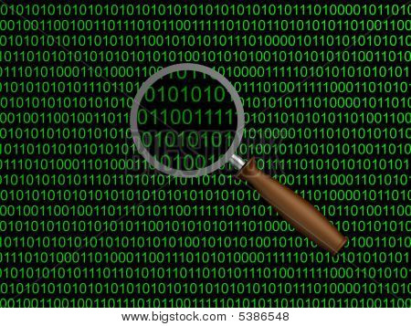 Magnifying Glass Numbers