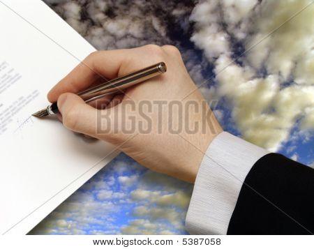 Signature Of Business Contrac
