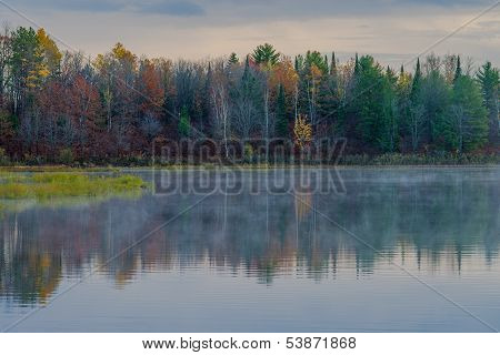 Autumn Reflections, Bond Falls Basin