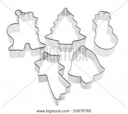 Cutters For Sugarcraft With Winter Shapes