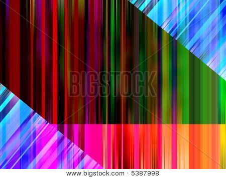 Background made out of colourful abstract lines. poster