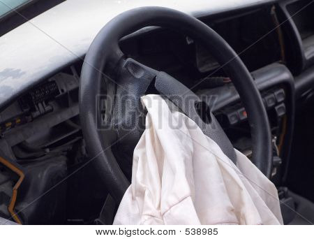Opened Airbag