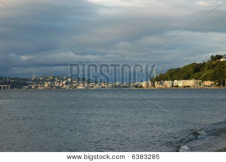 Seattle And Alki Beach