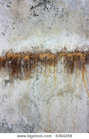 Wall Background With Rust