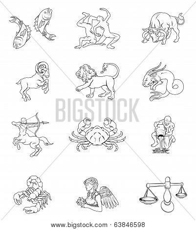 Zodiac Horoscope Astrology Signs