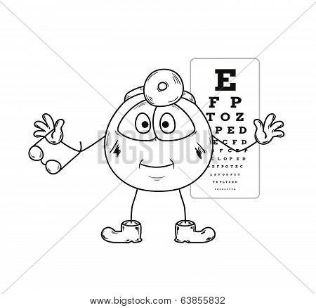 Ophthalmologist Sketch