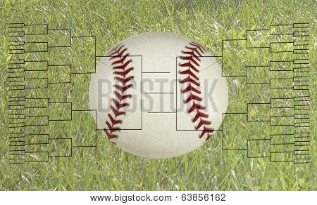 64 Team Baseball Playoff Bracket