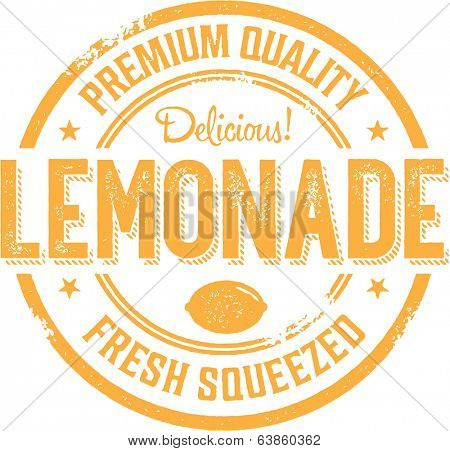 Vintage Style Lemonade Stand Sign