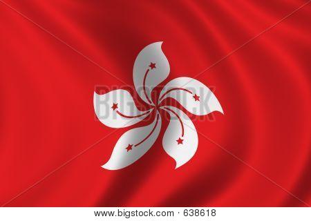 Flag Of Hongkong