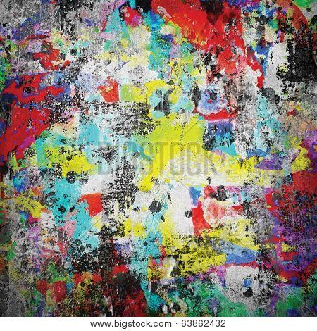 grunge paint background