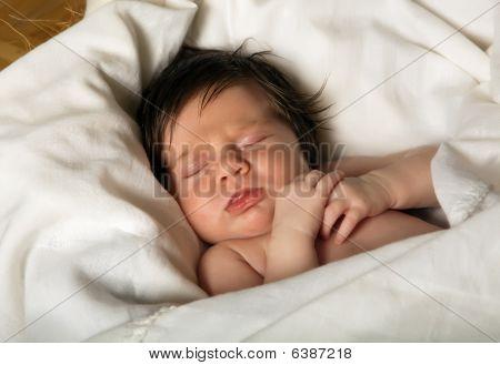Jesus In A Crib