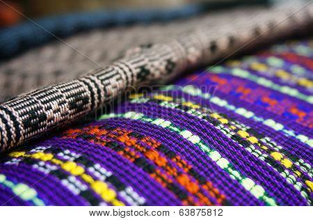 Pile Of Lao Fabric