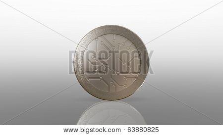 Digital Silver Coin