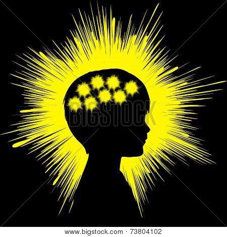 Epilepsy Concept Sign