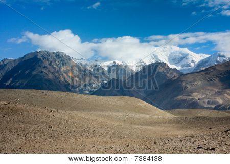 Pamirs in Xinjiang,