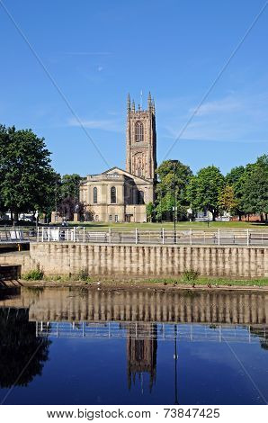 Derby Cathedral.