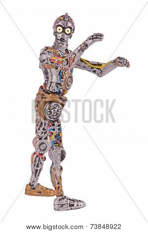"""Naked"" C-3PO"