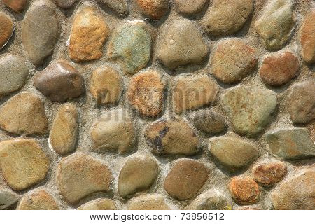 The Stone Wall For Background