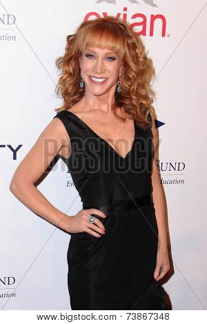 LOS ANGELES - OCT 14:  Kathy Griffin at the Fulfillment Fund Stars Benefit Gala 2014 at Beverly Hilton Hotel on October 14, 2014 in Beverly Hills, CA