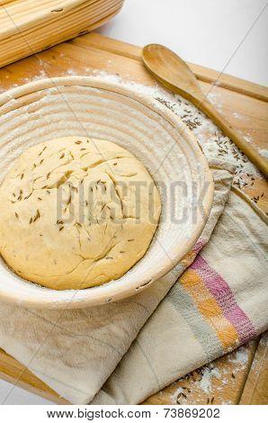 Making Bread Home In A Basket - Scuttle