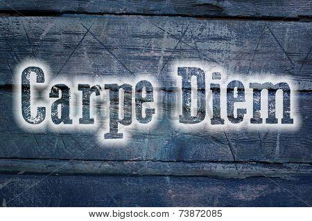 Carpe Diem Concept