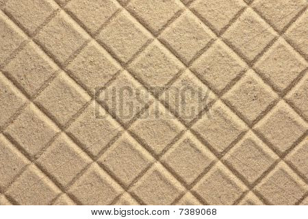 Diamond Pattern In Sand