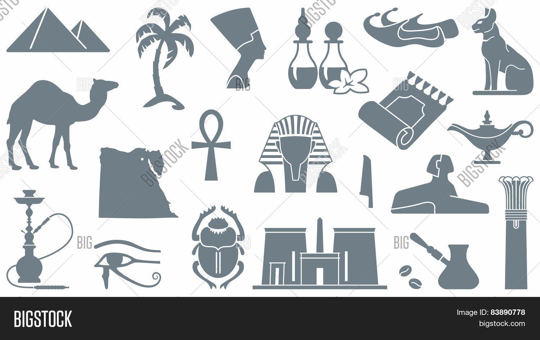 Egyptian Symbols Vector Photo Free Trial Bigstock