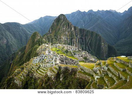 Machu Picchu view in early morning