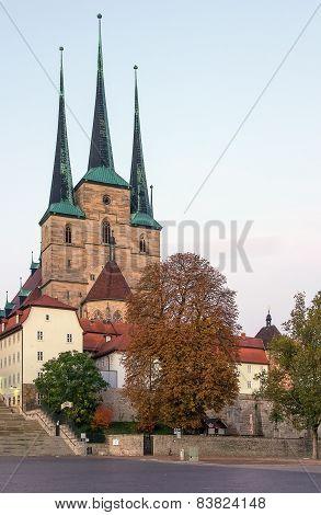 Severikirche In Erfurt, Germany
