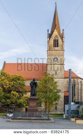 Kaufmannskirche St. Gregor, Erfurt, Germany