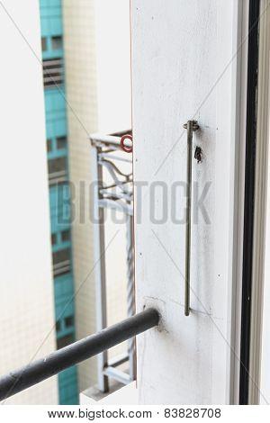 Long Hook For Fixing Shutters