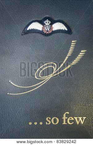 Book Of Remembrance Cover