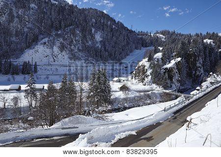 Ticino, Switzerland - U-turn Of A Switchback