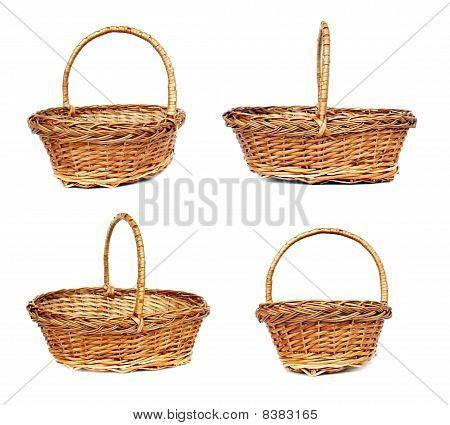 vintage Willow Basket