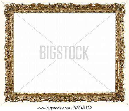 Retro Gold Photograph Frame.