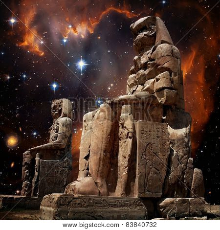 Colossus Of Memnon And Small Magellanic Cloud (elements Of This