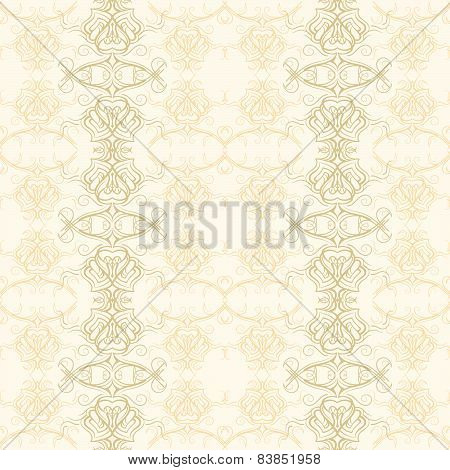 Elegant ornamental decorative pattern