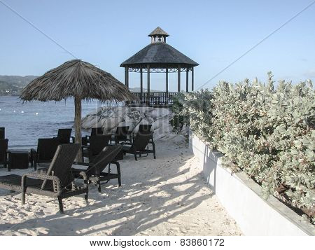 A beautiful lookout on Montego Bay, Jamaica