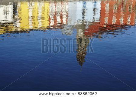 Ascona (switzerland) - Reflection Of Houses
