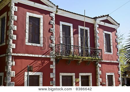 Old traditional house at Arta city of Greece