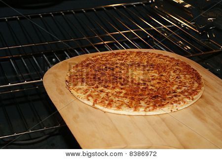 Pizza Fresh From The Oven