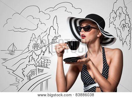 Teatime Outdoors.