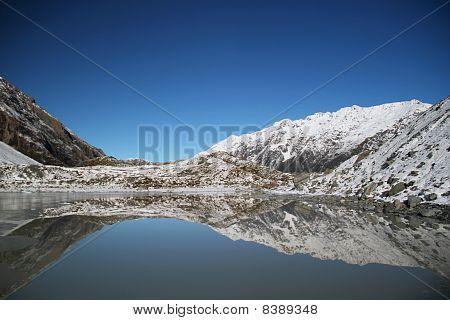 Hooker Glacier terminal lake