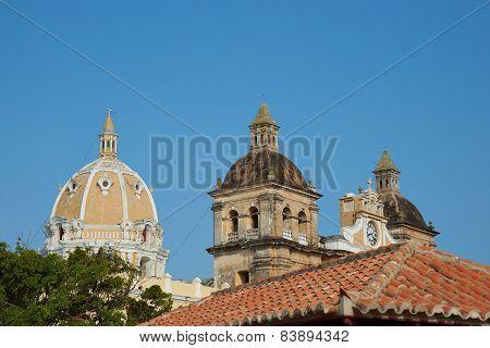 Historic Church in Cartagena